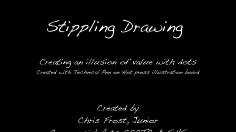 Thumbnail for entry Stippling Drawings