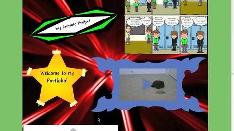 Thumbnail for entry Glogster e-Portfolio- Nick