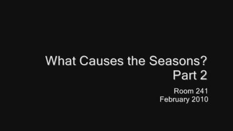 Thumbnail for entry Seasons 2