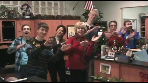 Thumbnail for entry Rockin' Around The Christmas Tree 2012-13 GIHS Holiday Lip Dub