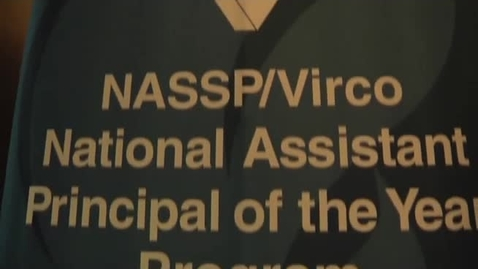 Thumbnail for entry 2011 NASSP/Virco Assistant Principal of the Year: Paul Culbertson