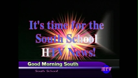 Thumbnail for entry South HTV News #1