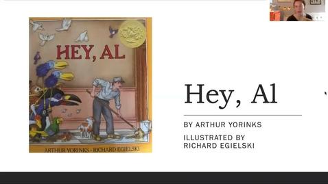 Thumbnail for entry Hey Al by Arthur Yorinks read aloud