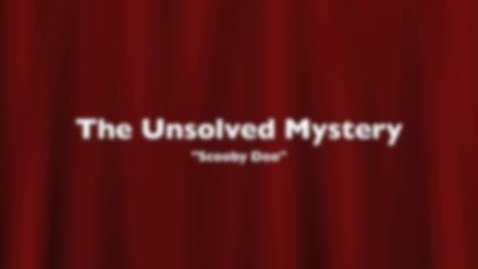 Thumbnail for entry Scooby Doo: The usolved mystery