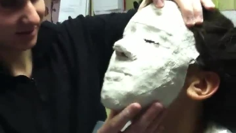 Thumbnail for entry Plaster Cast Mask Removal