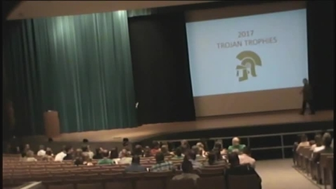 Thumbnail for entry 2017 Trojan Trophies Awards