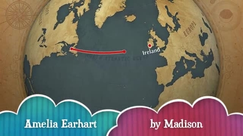 Thumbnail for entry Biography Report - Amelia Earhart