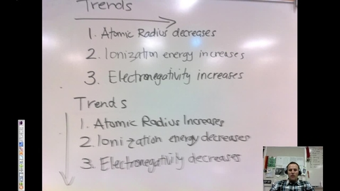 Thumbnail for entry 13. Periodic Trends