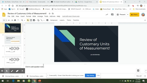 Thumbnail for entry Review Customary Measurement Video.webm