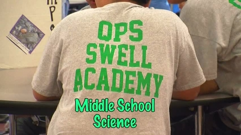 Thumbnail for entry SWELL Academy Science MIddle School