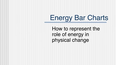 Thumbnail for entry Energy Diagrams (LOL charts)
