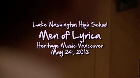Thumbnail for entry LW Men of Lyrica: Andachtz Jodler