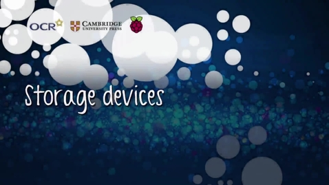 Thumbnail for entry Storage devices - Part B
