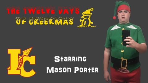 Thumbnail for entry 12 days Creekmas