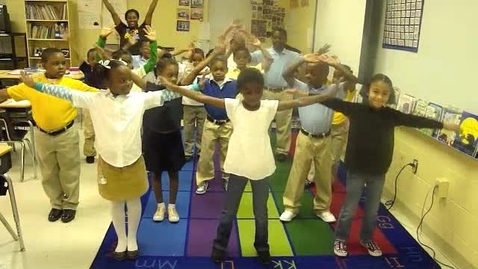 Thumbnail for entry Morning Workout with Ms McGhee's Second Grade Class