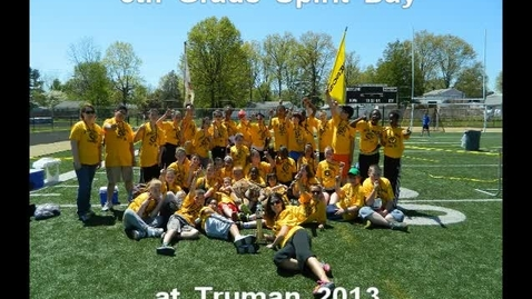 Thumbnail for entry Emerson 6th Grade at Spirit Day 2013