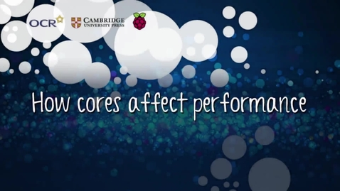 Thumbnail for entry How cores affect performance