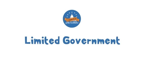 Thumbnail for entry 20-2 Limited Government