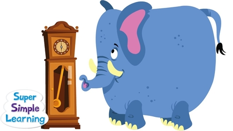 Thumbnail for entry Hickory Dickory Dock   Super Simple Songs