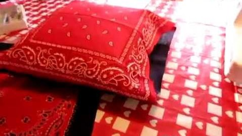 Thumbnail for entry How to make a Bandana Pillow - Sewing 4-H Project