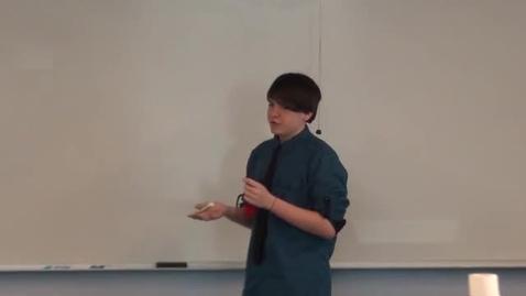 Thumbnail for entry Dominic's Demonstrative Speech