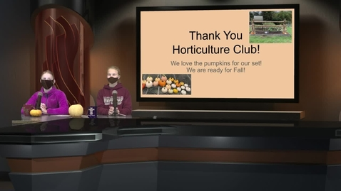 Thumbnail for entry WHMS Morning News   Oct 13, 2021