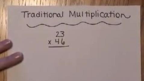 Thumbnail for entry Lattice Multiplication