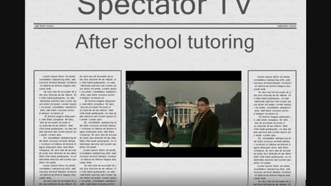 Thumbnail for entry Black Caucus Foundation Free After School Tutoring