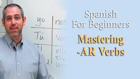 Thumbnail for entry Mastering 'AR' Verbs | Spanish For Beginners (Ep.3)