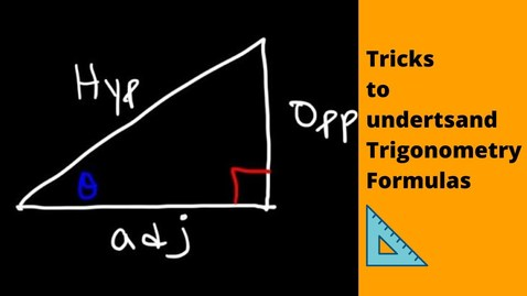 Thumbnail for entry Tricks to Understand Trigonometry Formulas | Math Class 10 | Letstute