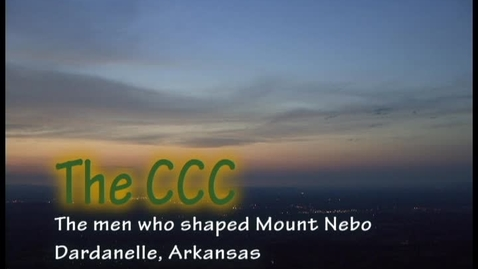Thumbnail for entry The CCC on Mt. Nebo