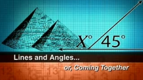 Thumbnail for entry Angles & Triangles Vocabulary