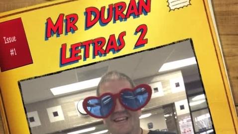 Thumbnail for entry Mr. Duran - Spanish Letter Sounds