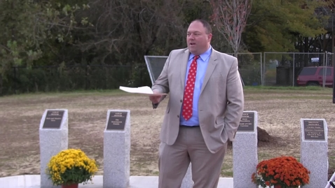 Thumbnail for entry Donor Plaza Dedication Ceremony 10-26-18