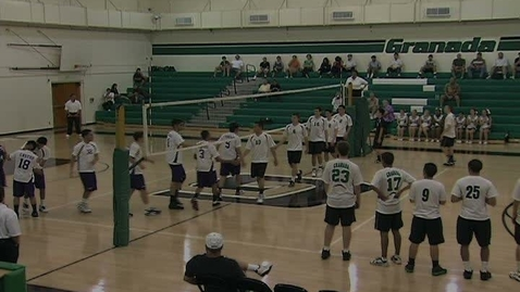 Thumbnail for entry GHCHS Boys Volleyball vs Bell 5-8-12