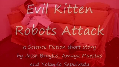 Thumbnail for entry Evil Kitten Robots Attack