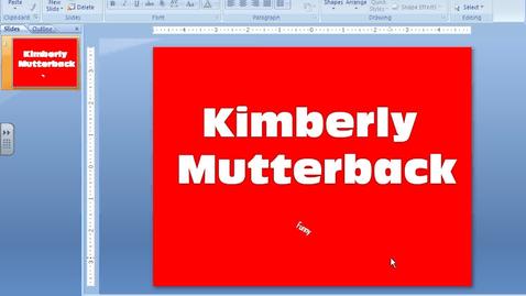 Thumbnail for entry Saving the Presentation as a JPEG
