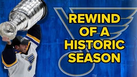 Thumbnail for entry Rewind of a championship season: St. Louis Blues