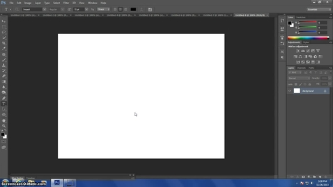 Thumbnail for entry Creating a Light Burst Effect in Photoshop CS6