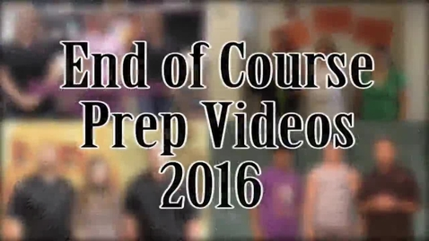Thumbnail for entry KELL End of Course Video Collection 2016