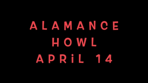 Thumbnail for entry Alamance HOWL April 14