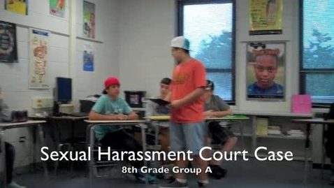 Thumbnail for entry 2011 Sexual Harassment Court Case
