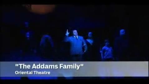 Thumbnail for entry Addams Family Broadway Preview