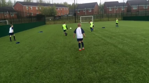 Thumbnail for entry Nicol Mere win year 3 Wigan football competition. 2017