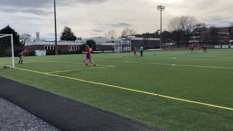 Thumbnail for entry Girls Varsity Soccer Practice
