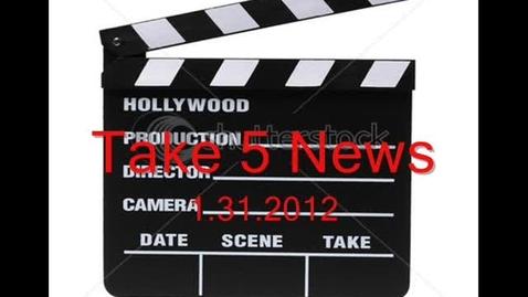 Thumbnail for entry Take 5 News 2.2.2012