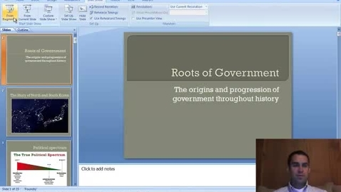 Thumbnail for entry Roots of Government
