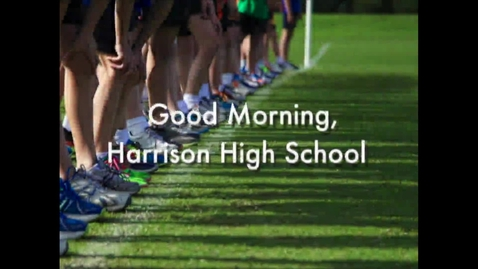 Thumbnail for entry Harrison High School News 10-26-16