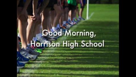 Thumbnail for entry Harrison High School News 10-26-16