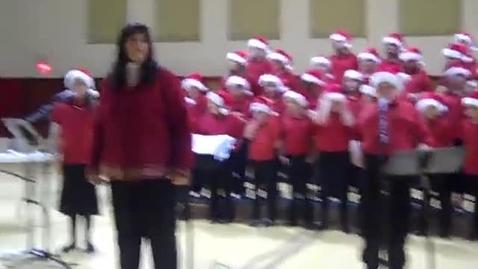 Thumbnail for entry Honor Choir 6